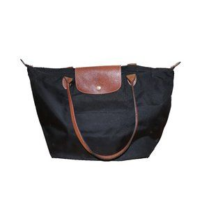 Longchamp Le Pliage Shopping Large Tote Bag Black